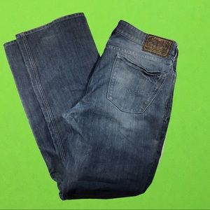 Guess Desmond relaxed straight denim jeans